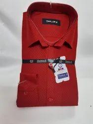 THAKUR JI Cotton Printed Shirt, Size: 38