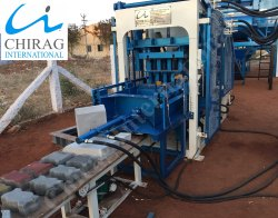 Chirag Immense Technology Manual Concrete Block Making Machine