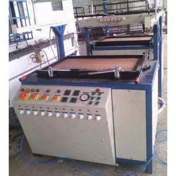 Semi Automatic Thermocol Plate Machine