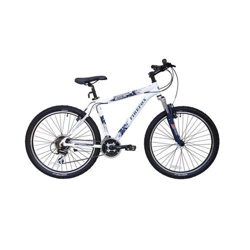 Firefox Target 21 Sd Frameset 16 Inch White And Blue Color Trails Bike