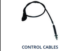 Black Bajaj Control Cable