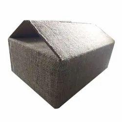 Rectangle Brown Heavy Duty Jute Corrugated Box, Box Capacity: 6-10 Kg