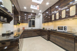 Residential U Shape Modular Kitchen, East India