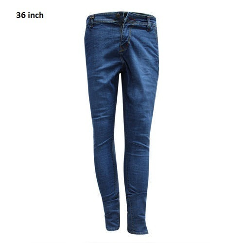 Plain Mens Denim Jeans, Waist Size: 36