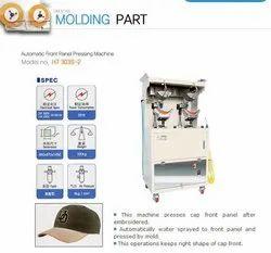 Cap Front Panel Pressing Machine