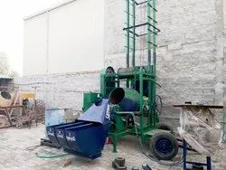 Concrete Batch Mixer With Lift
