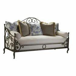 3 Seater Iron Sofa