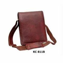 Kc 811 B  Leather Laptop Bag