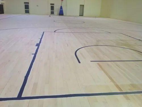 Wooden Basketball Sports Flooring For, Laminate Basketball Flooring