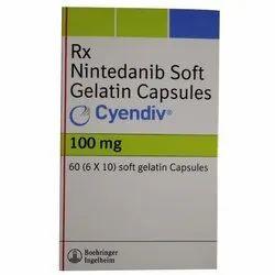 Nintedanib Soft 100mg Gelatin Capsules