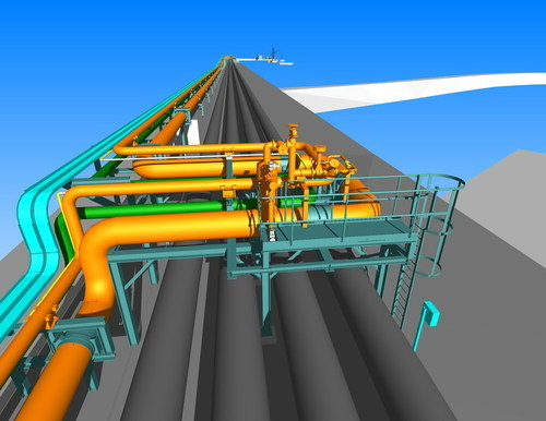 Piping Design Services - Piping Detail Engineering Services Service