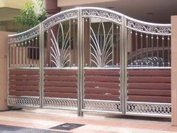Steel Decorative Main Gate