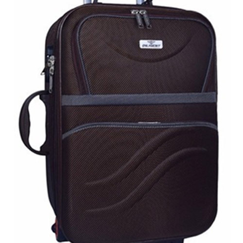 c3ff62503f1 Diligent Brown 28 Inch Trolley Bag