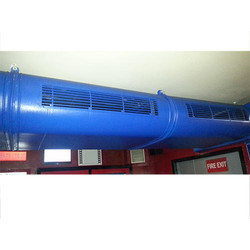 Powder Coating Air Cooling Duct System