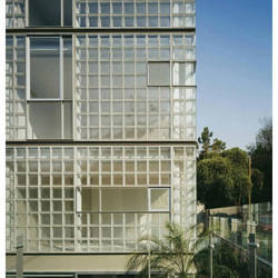 Residential Buildings Glass Brick