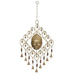 SNG Iron Buddha Square Bell Hanging