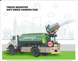 Truck Mounted Anti Smog Gun