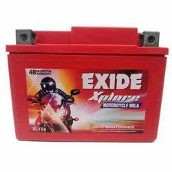 Exide Bike Battery, Battery Type: Acid Lead Battery