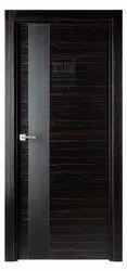 Black Wood Veneer Door