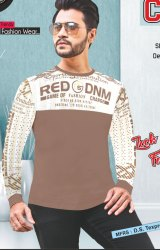 Men Stylish Casual Cotton T-Shirt
