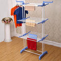 Kawachi Heavy Duty Double Pole Cloth Drying Stand