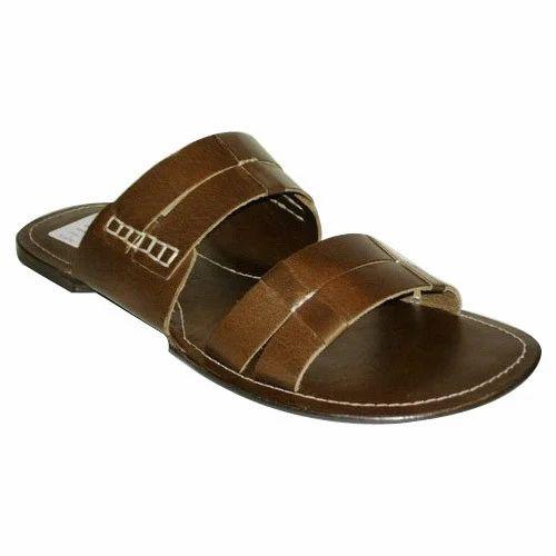 05514f04786a2 Men Leather Slipper at Rs 450 /pair | Kalka | Panchkula | ID ...