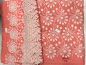 3d Embroidery Kurti Fabric