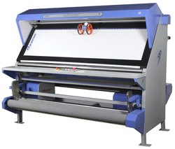 Fabric Inspection Machine with Both Side Rolling