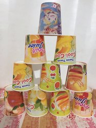 210Ml Paper Cups, Packet Size: Printed