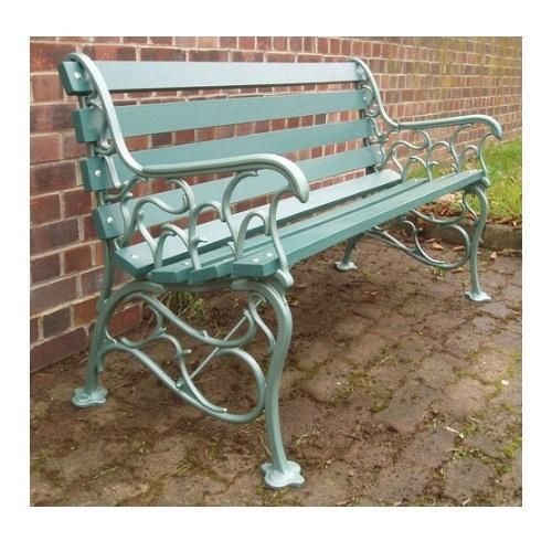 Charmant Chairwalla Cast Iron Garden Bench, Seating Capacity: 3 Seater