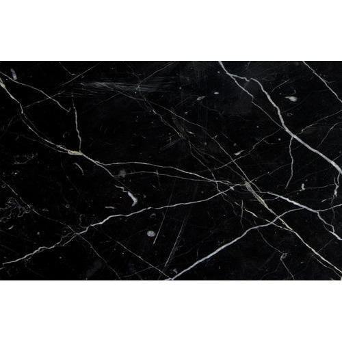 Black Marquina Marble Slab For Kitchen Top Rs 250