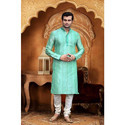 Fashionable Kurta With Churidar