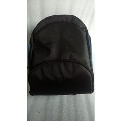 Black Waterproof School Bag