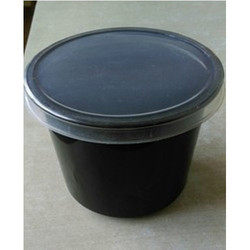 650 ml Black Lid Containers