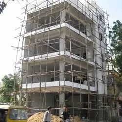 Concrete Frame Structures Showroom Construction Service, Waterproofing System