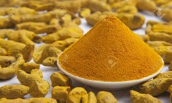 Polished Salem Turmeric Powder Grade GOLDEN YELLOW, Packaging Size: 50 kg