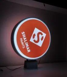 Round LED Signage