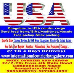 DHL Fedex USA/ UK Courier Cargo