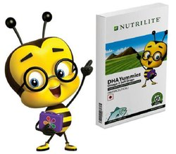 Nutrilite Kids Brainiums DHA Dietary Supplement Fruit Punch Flavor