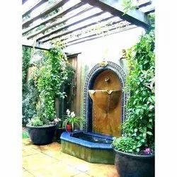 FRP,Stone Garden Wall Fountain