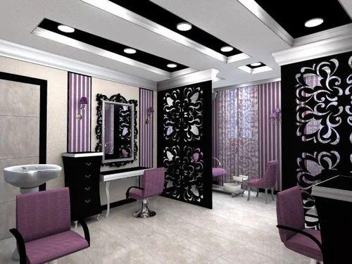 Glass Salon / Parlour Interior Designer, Classy Interiors | ID ...