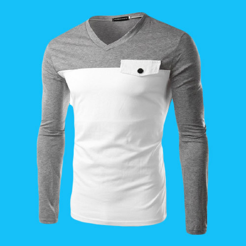 ebfd9372a09 Boys V Neck Full Sleeve T Shirts