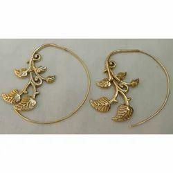 Fashion Brass Earring