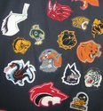 Mascot  Patch for Garments
