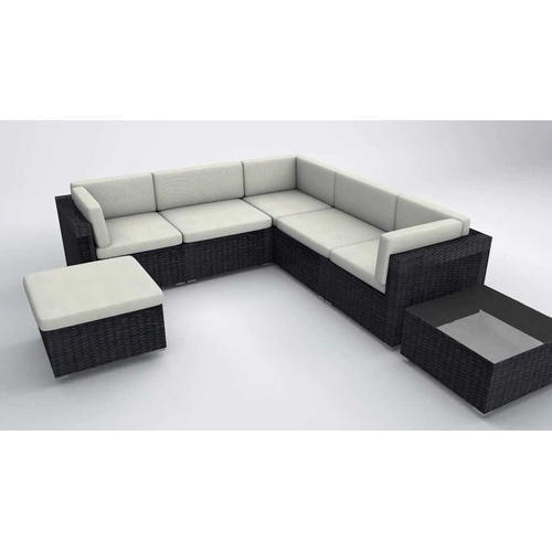 Wooden 5 Seater Modern Corner Sofa Set, Rs 56000 /set, Shubham Sofa ...