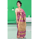 Designer Handloom Silk Ghicha Anchal Saree