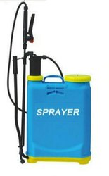 India Double Pump Kanpsack Sprayer, For Spraying, Capacity: 16 liters