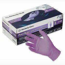 Purple Nitrile Gloves KC-500