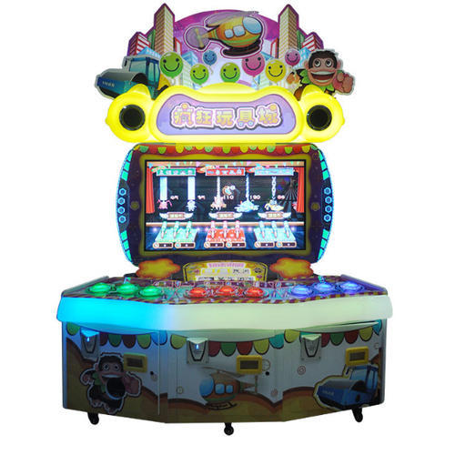 Crazy Games Children Ride Amusement Ride Jumping Machine: Redemptation Games Machines And Kiddie Ride Manufacturer