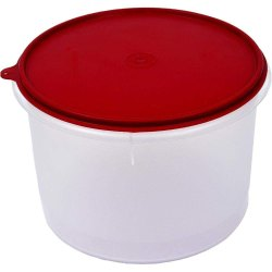Tupperware Plastic Round Container. 450ml Food Container